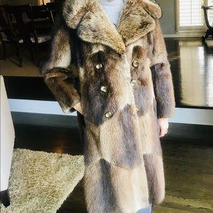 True Vintage Genuine Fur Coat
